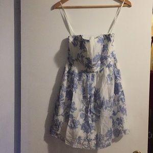 Strapless Floral GAP dress